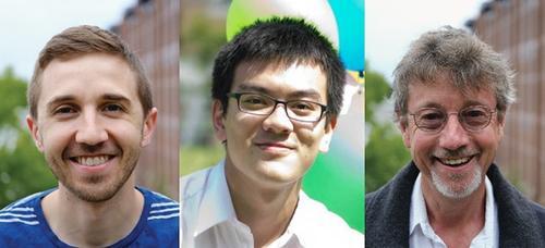 Image of Yin-Wei Kuo (Kris), Olivier Trottier and Jonathon Howard
