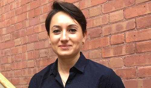 Image of Yevheniia Ischenko of the Koleske Lab, December 20, 2019
