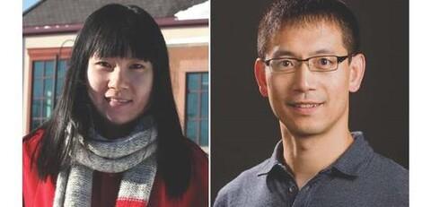 Image of Xiong Lab members, December 11, 2019