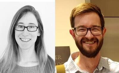 Tara Alpert and Jeremy Schofield