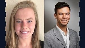 Ellen Corcoran and Jake Thrasher