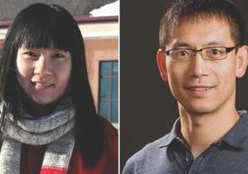 Image of Xiong Lab members, December 11, 2019