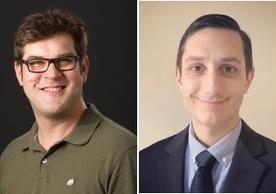 Image of Christian Schlieker and Anthony Rampello of the Schlieker Lab