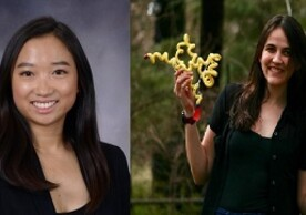 Image of Kimberly Wei and Anna-Sophia Boguraev recipients of the 2020 Paul Sigler Prize