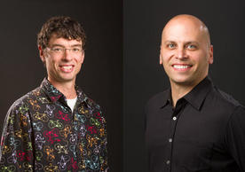 Image of Associate Professor Sindelar and Professor De La Cruz